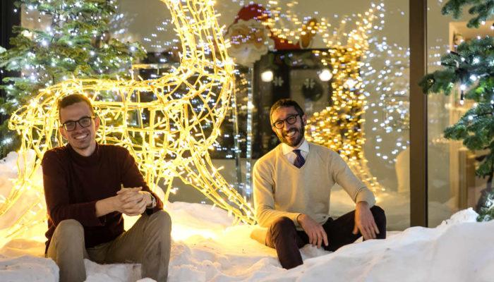 Mirtillo Rosso storytelling hotel del Natale, Stefano Cerutti