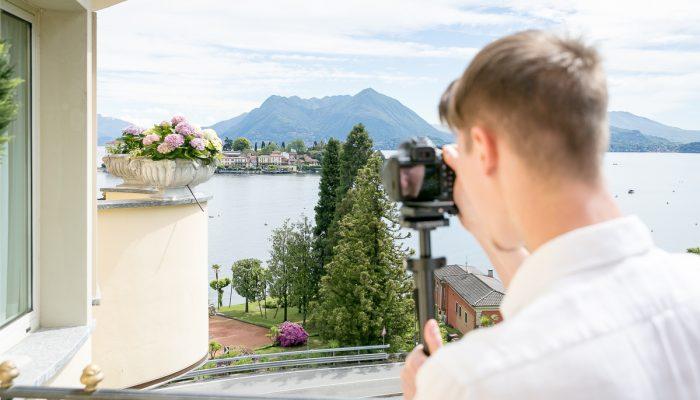 Influencer marketing, social media Lago Maggiore