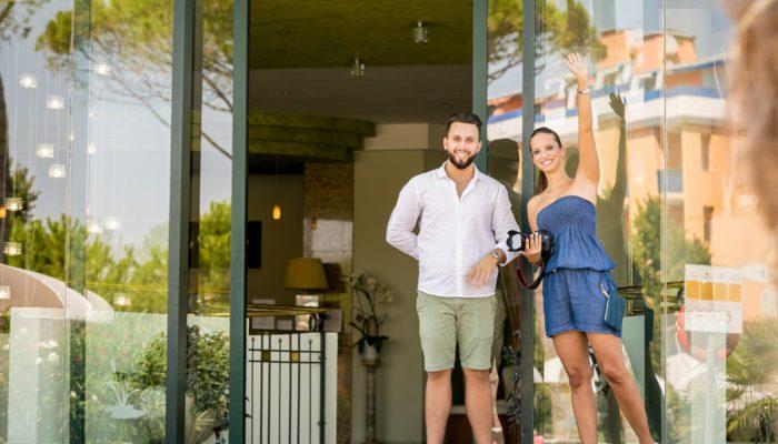 Bibione - Foto family hotel per web e social media, storytelling fotografico