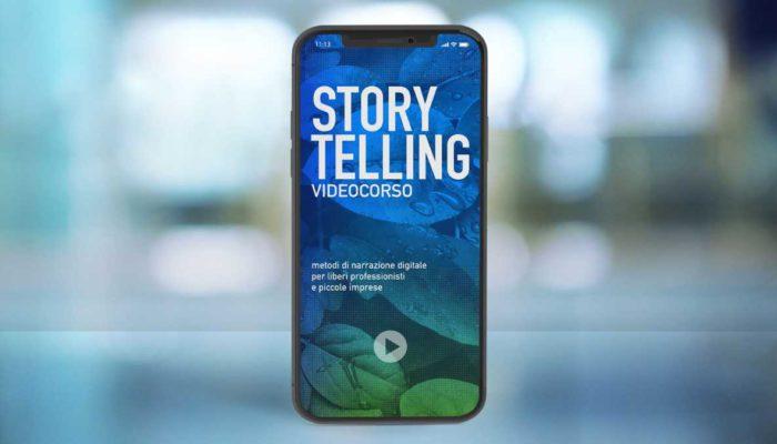 Corso Storytelling online