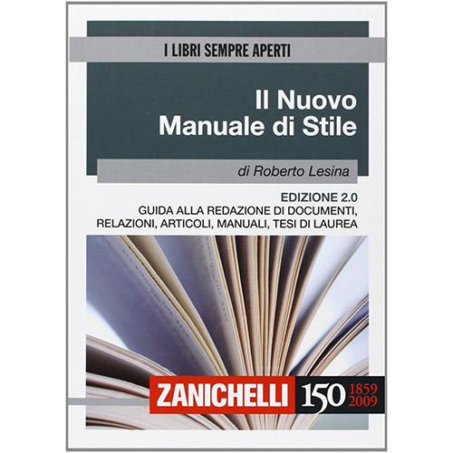 Il nuovo manuale di scrivere