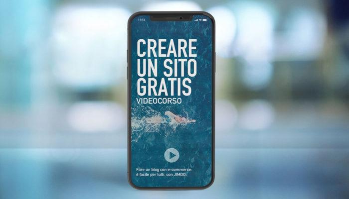Creare sito gratis - Corso online Jimdo
